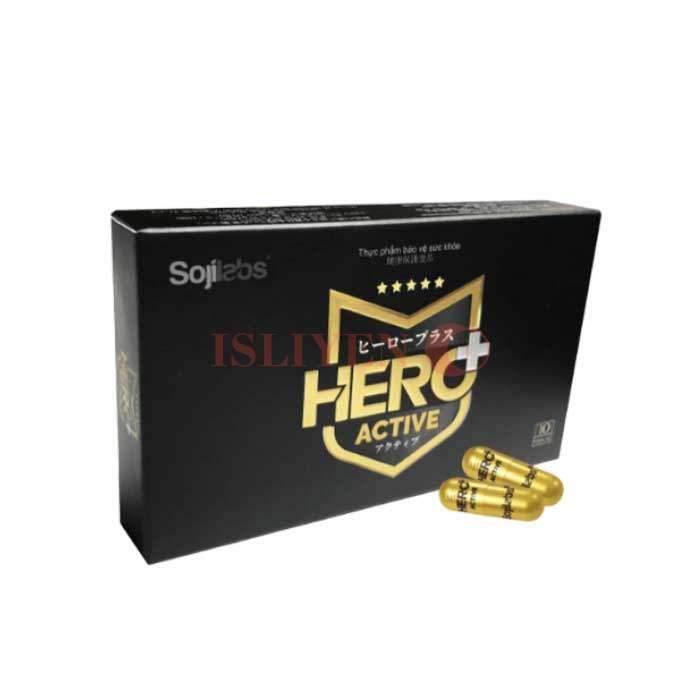 Hero + Active vì sức mạnh nam giới