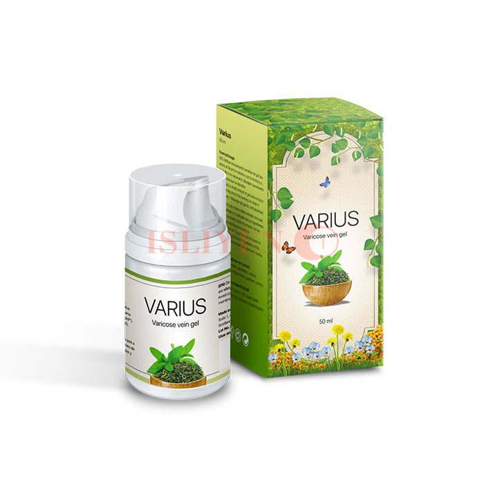 Varius gel từ giãn tĩnh mạch